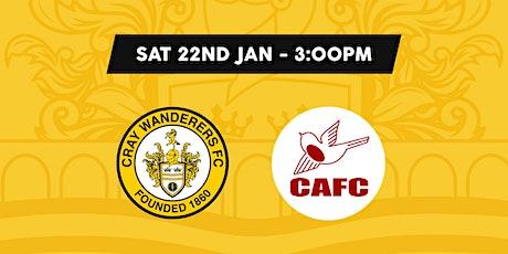 Cray Wanderers VS Carshalton Athletic tickets