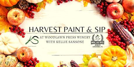 Harvest Paint & Sip tickets