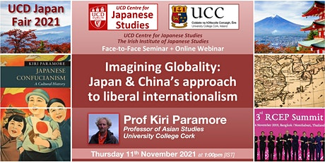 Imagining Globality: Japan & China's approach to liberal internationalism tickets