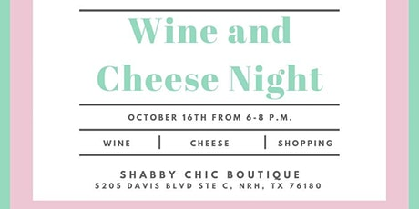 Girl's Night Out! Wine and Cheese tickets