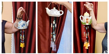 Beaded Teapot Windchime Workshop - Garden City tickets
