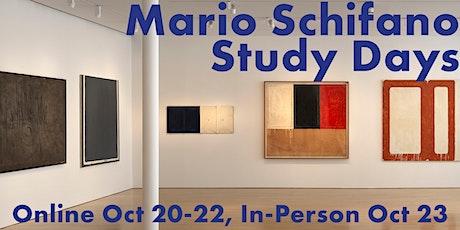 Mario Schifano Study Days - Online Panels - Oct. 20, 21, 22 entradas
