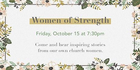 Women of Strength @ Stoney Creek tickets