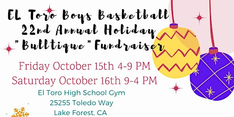 HOLIDAY BULL‑TIQUE Christmas Craft Boutique Family Fun Event tickets