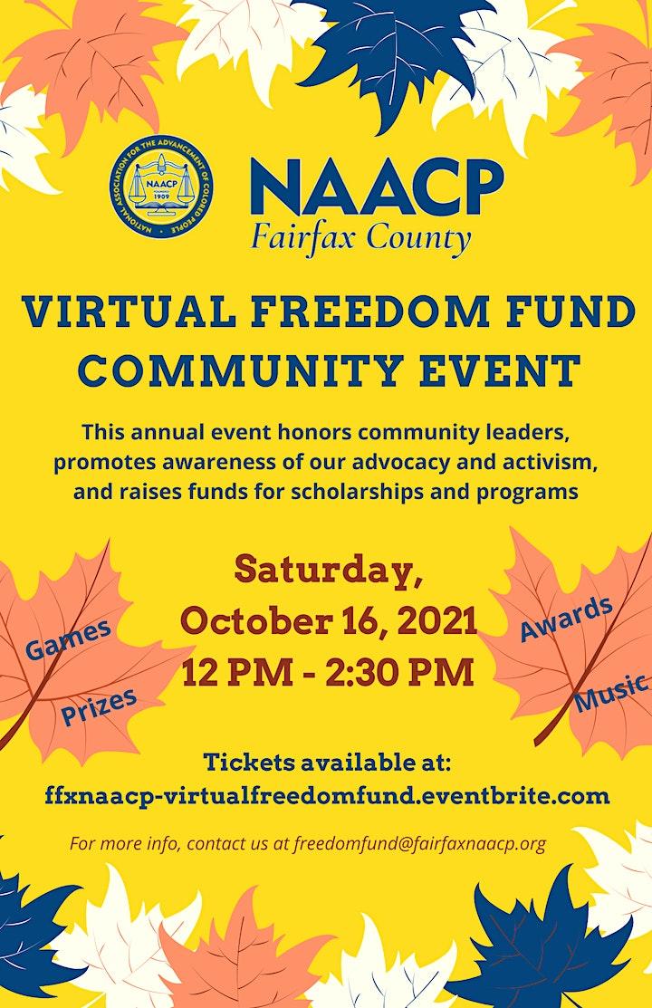 Virtual Freedom Fund Community Event image