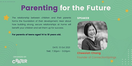 Parenting for the Future [Webinar] tickets