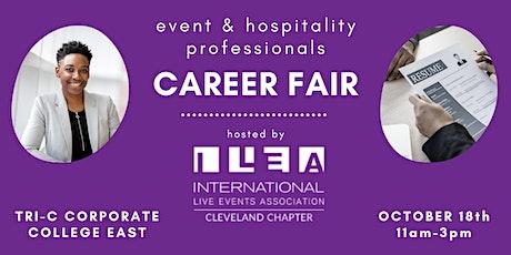 Events & Hospitality Career Fair - Hosted by ILEA Cleveland tickets