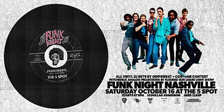 Funk Night Nashville 10/16/21 tickets