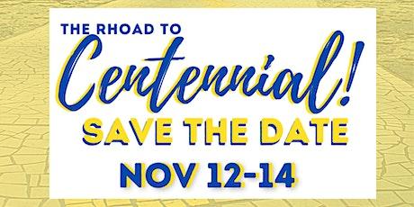 Rhoad To Centennial - Sigma Gamma Rho Virtual Founders' Weekend Celebration tickets