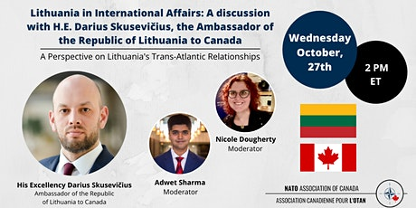 The Future of North Atlantic Cooperation: A Lithuanian Perspective tickets