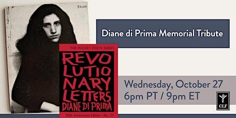 Diane di Prima Memorial Tribute tickets