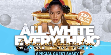 """LET'S  DO  BRUNCH WITH VAL'S KITCHEN """"ALL WHITE EVERYTHING"""" tickets"""