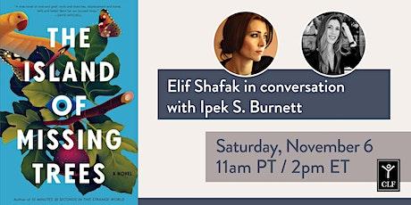 Elif Shafak in conversation with Ipek S. Burnett tickets