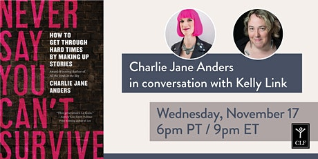 Charlie Jane Anders in conversation with Kelly Link tickets