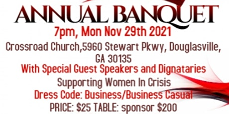 JC Freedom House Annual Banquet tickets