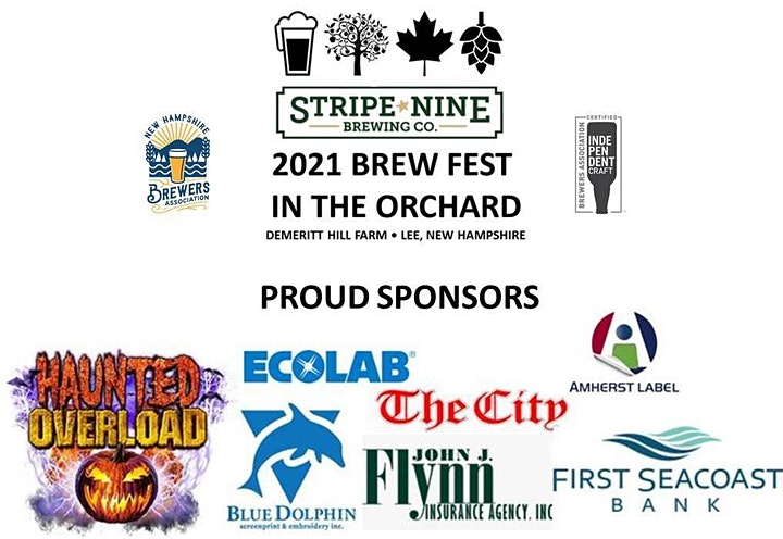 Stripe Nine's 2021 Brew Fest in the Orchard image