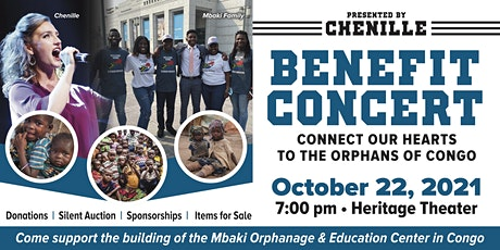 Chenille & Mbaki Benefit Concert-Connect our Hearts to the Orphans of Congo tickets