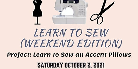 Learn To Sew  - Weekend Edition tickets