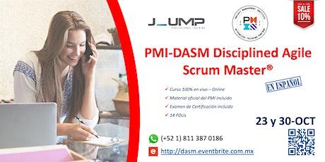 PMI-DASM® Disciplined Agile Scrum Master - Curso Oficial de Certificación tickets