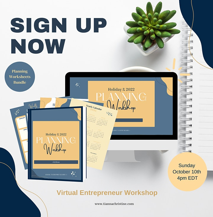 Entrepreneur  Q4 and 2022 Planning Workshop image