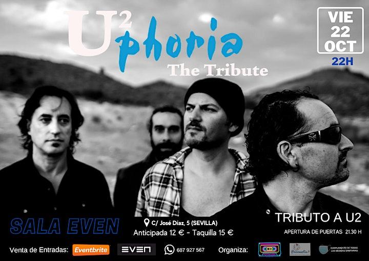 Imagen de UPHORIA.  Tributo a U2 en Sevilla
