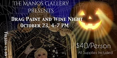 Drag Paint and Wine Night Hosted by Thiqqi Nikki tickets