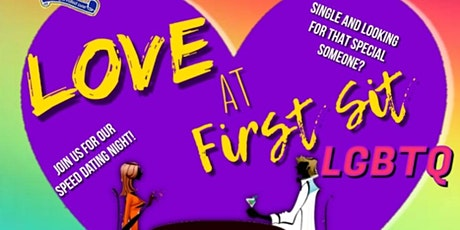 LOVE AT FIRST SIT SPEED DATING LGBTQ tickets