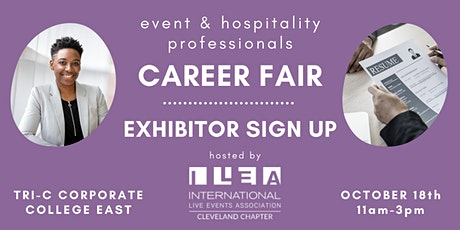 Events & Hospitality Career Fair - EXHIBITOR SIGN UP tickets