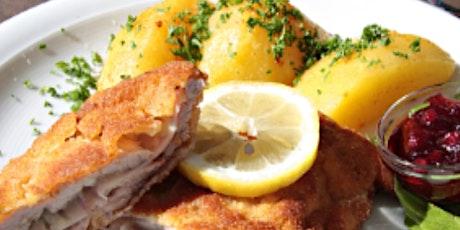 Online Class: German Feast: Weiner Schnitzel & Spaetzle tickets