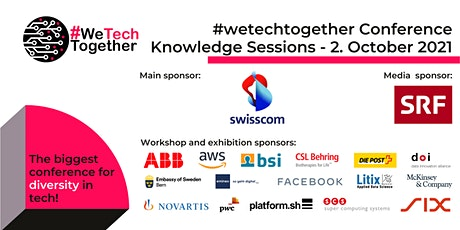 #wetechtogether 2021 conference - Knowledge Session Live Stream tickets