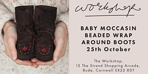 Baby moccasin wrap-around boot Workshop