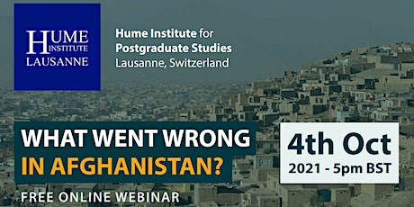 What Went Wrong In Afghanistan? tickets