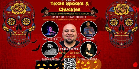 Texas Spooks and Chuckles tickets