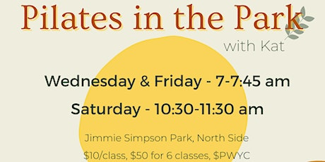 Friday Morning Pilates in the Park tickets
