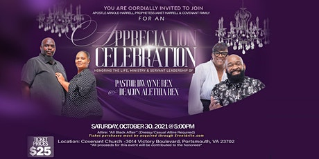Appreciation Celebration tickets