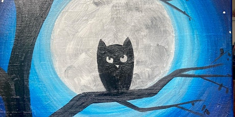 A Family Friendly Painting Class: Spooky Silhouettes tickets