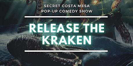 Secret Pop-Up Comedy Show - Costa Mesa tickets