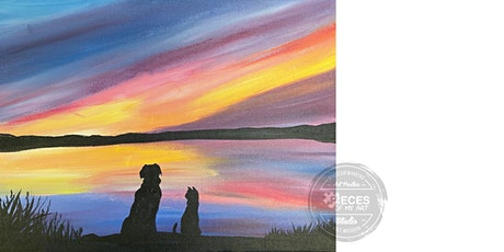 Add Your Pet Sunset Silhouette tickets