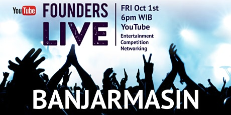 Founders Live Banjarmasin - INDONESIA tickets