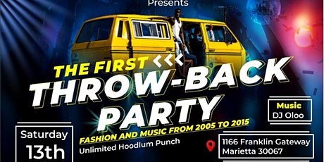 """Hoodlum entertainment """" Throwback party"""" tickets"""