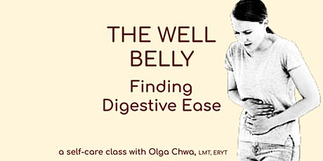 The Well Belly - Finding Digestive Ease - Oct tickets