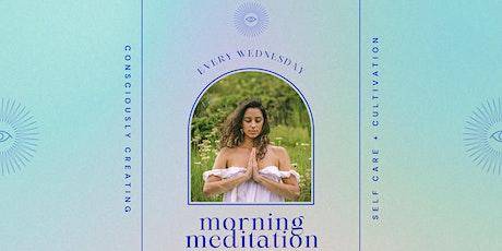Morning Meditation (every Wednesday) tickets