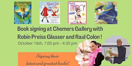 Book Signing with illustrators Robin Preiss Glasser & Raúl Colón tickets
