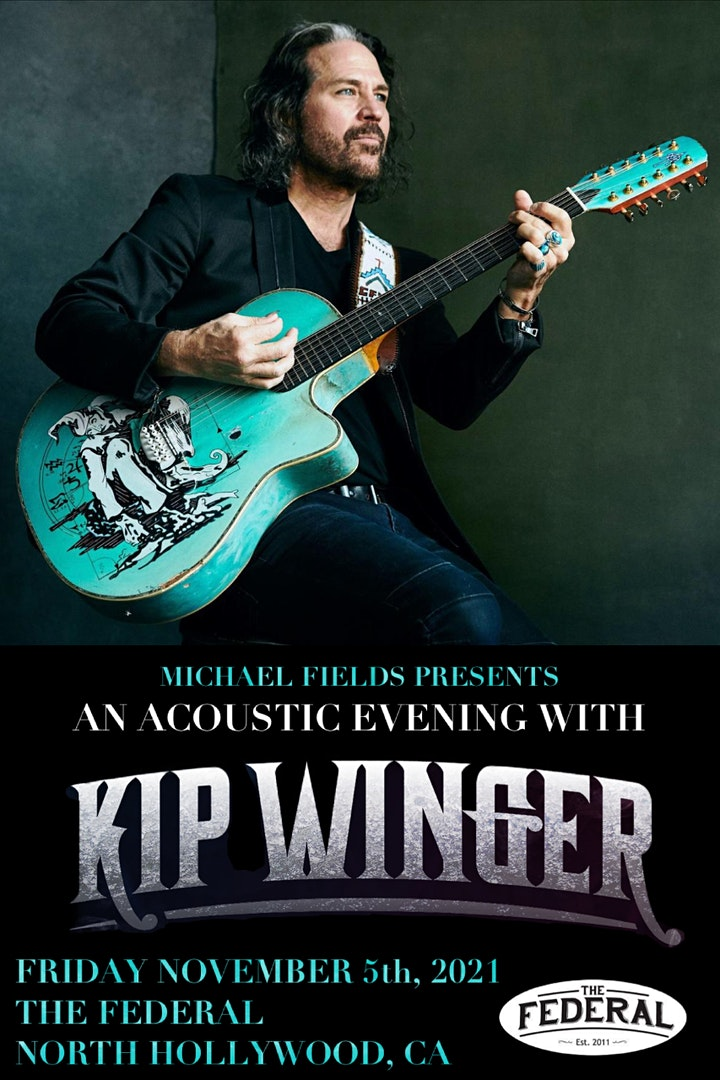An Acoustic Evening with Kip Winger image