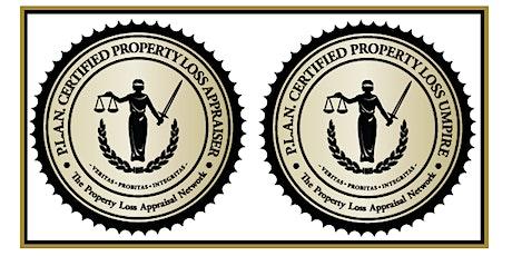 P.L.A.N. Appraiser & Umpire Certification Conference, Denver CO. tickets