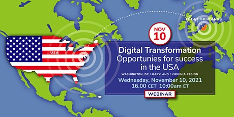 Digital Transformation:  Opportunities for success in the USA tickets