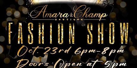 Amara & Champ Boutique tickets