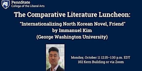 Comparative Literature Luncheon Lecture Series tickets