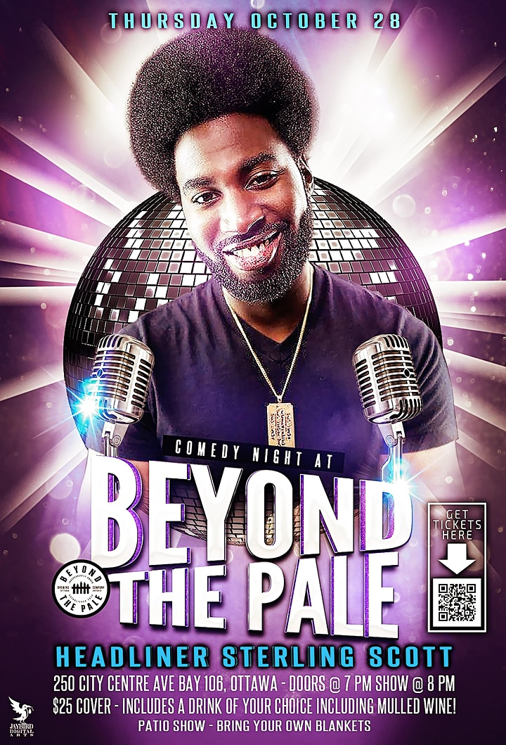 Outdoor Comedy at Beyond the Pale;Featuring Sterling Scott(Just for Laughs) image