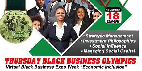 Black Business Expo Olympics tickets